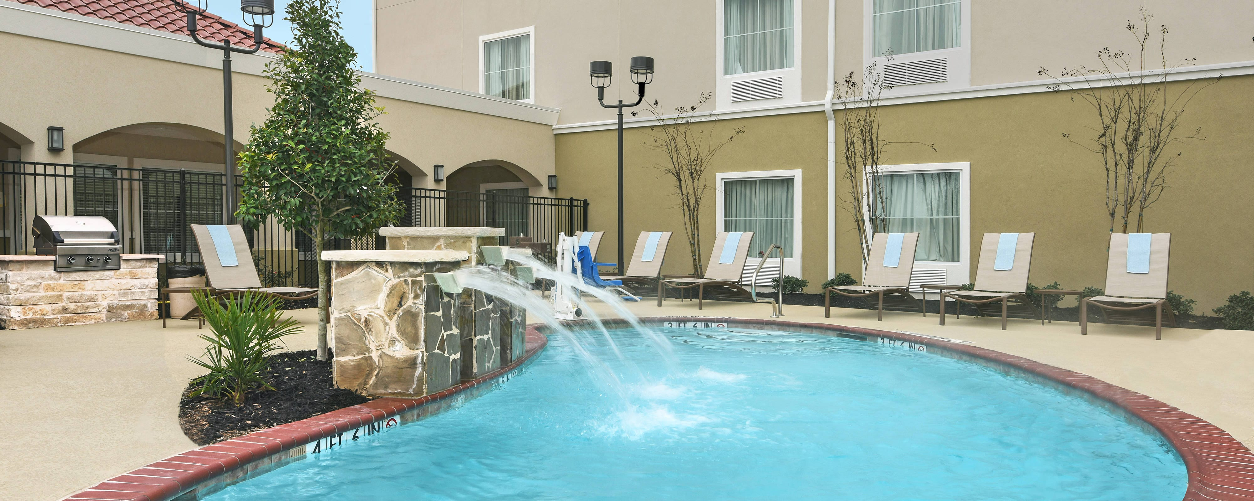 Outdoor Hotel Pool Seguin