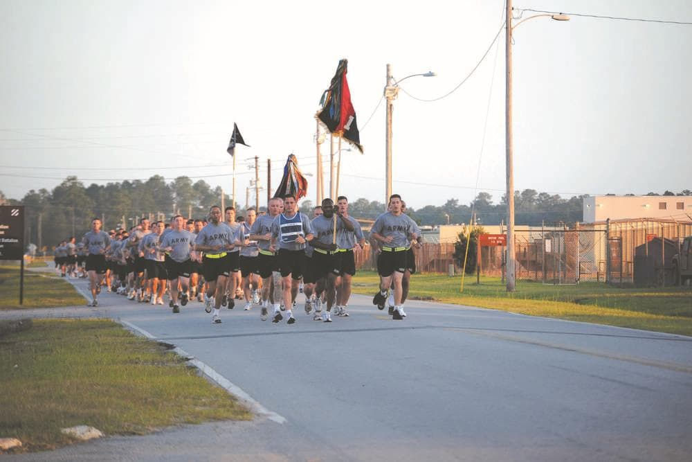 Memorial Run at Ft. Stewart