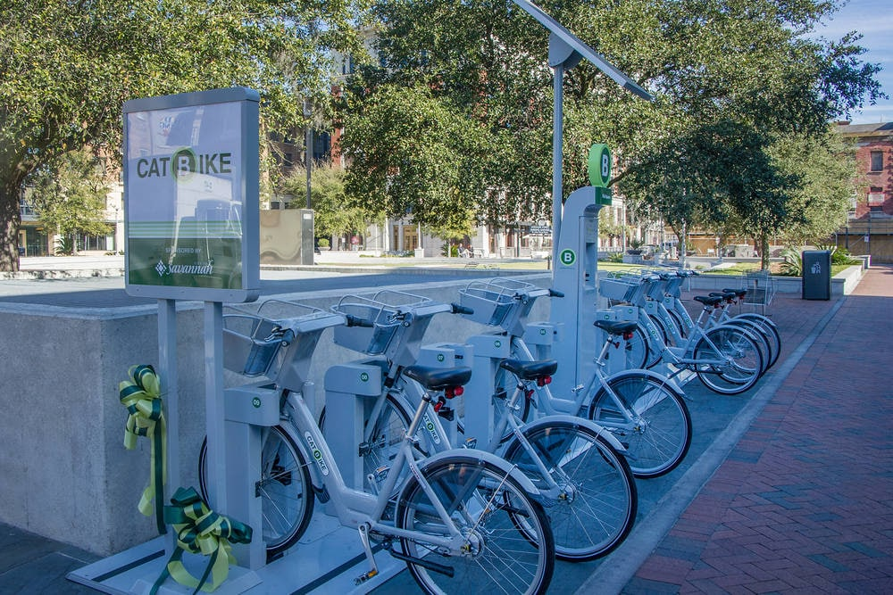 Bike Share Savannah, GA