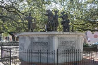 Haitian Monument in Savannah, GA