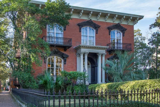 Mercer-Williams House Museum in Savannah