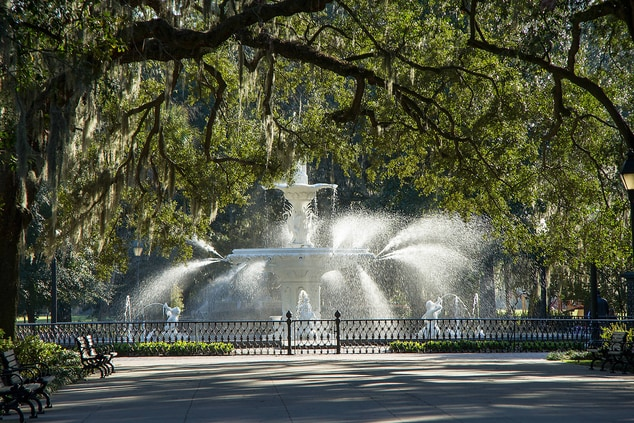 Forsyth Park Fountain Savannah, GA