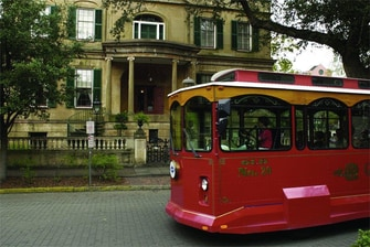 Trolley Tours – Savannah SpringHill Suites