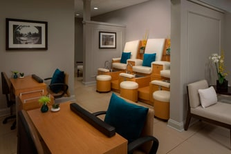 Heavenly Spa Mani Pedi Room