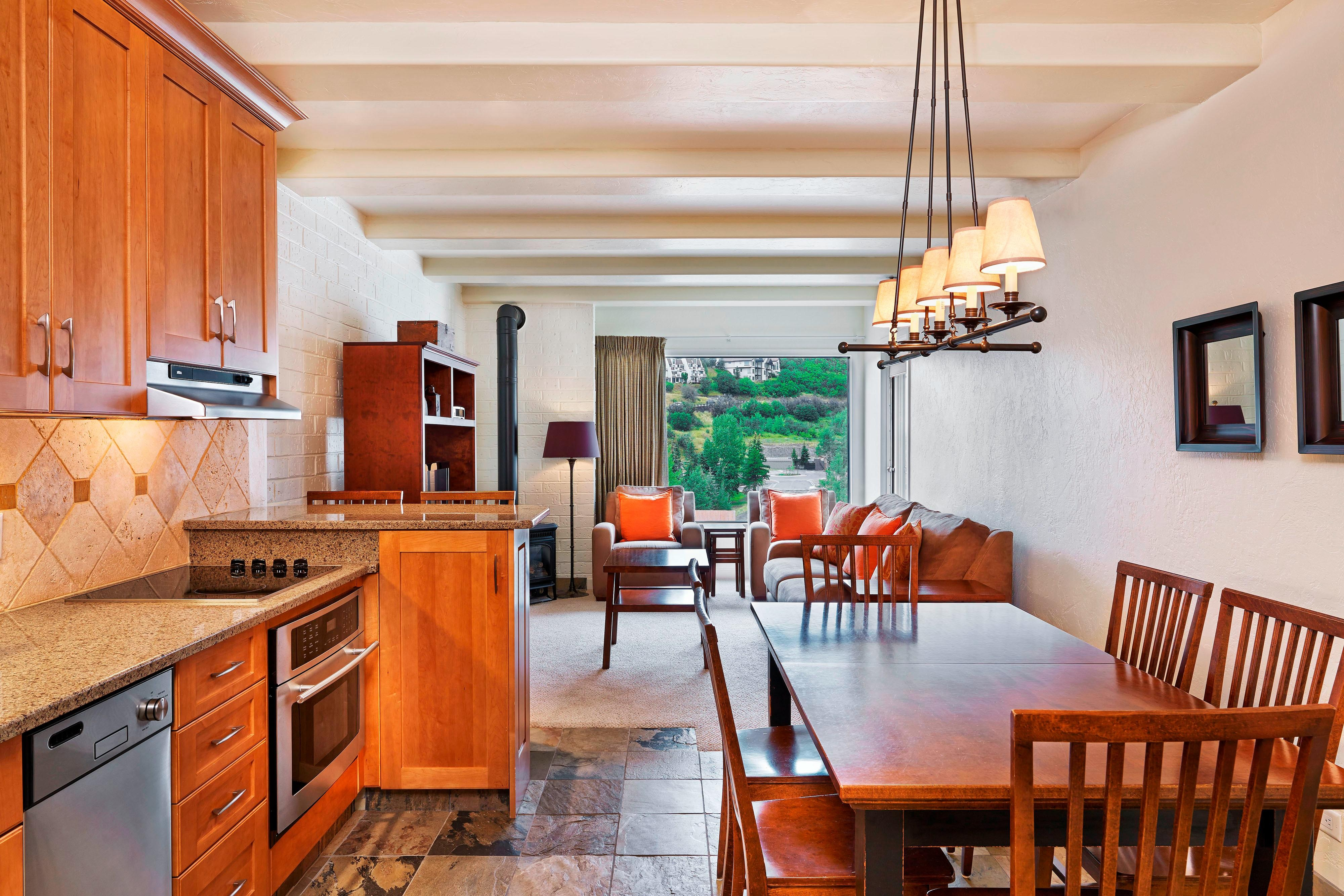 One Bedroom Condominium - Kitchen