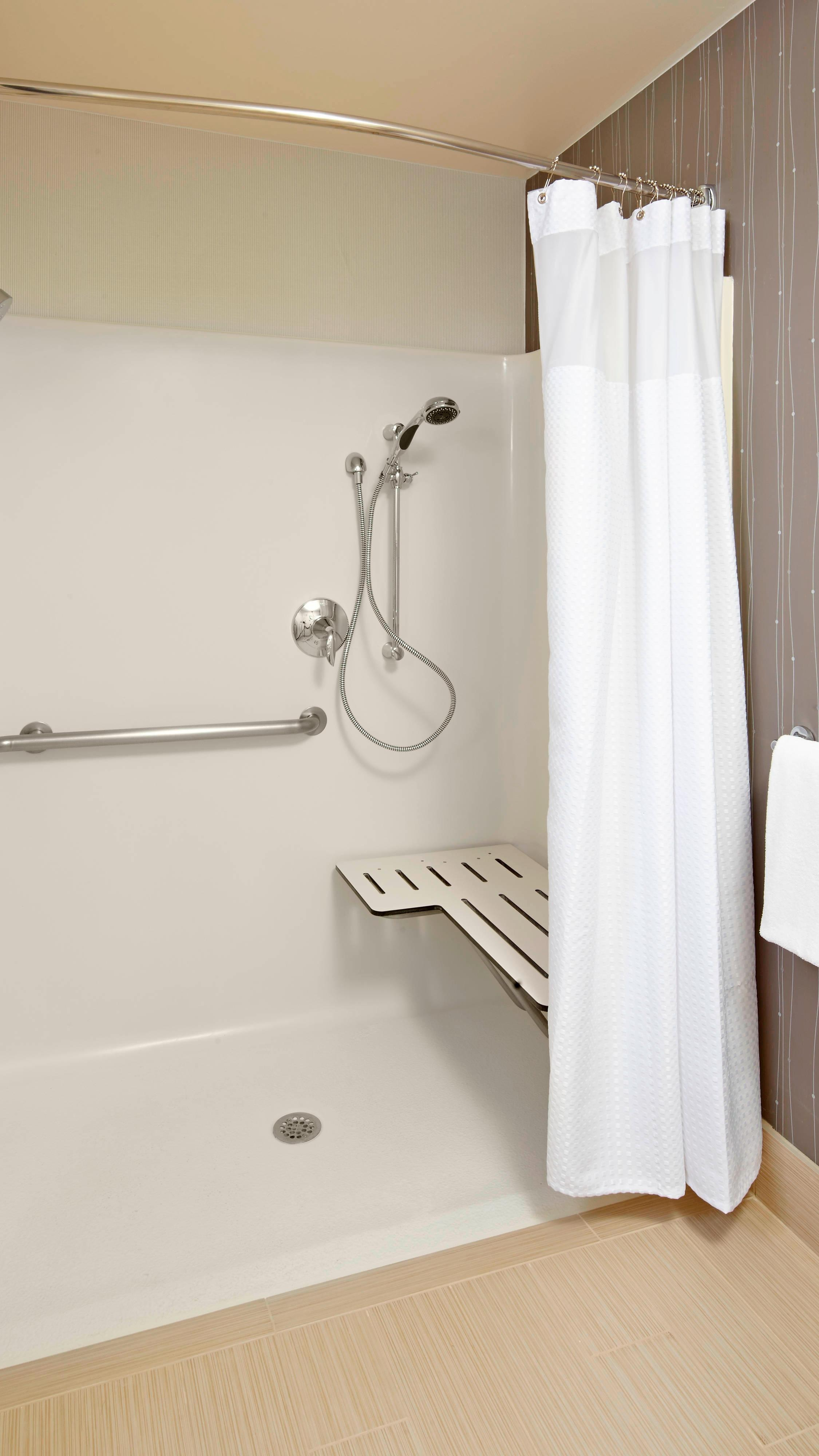Accessible, Roll-in shower, Guest Bathroom