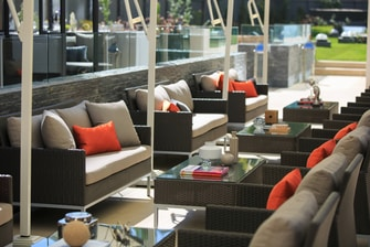 Santiago hotels with pool bar