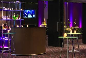Área de apoio da Sala Great - Ppreparação para cocktail