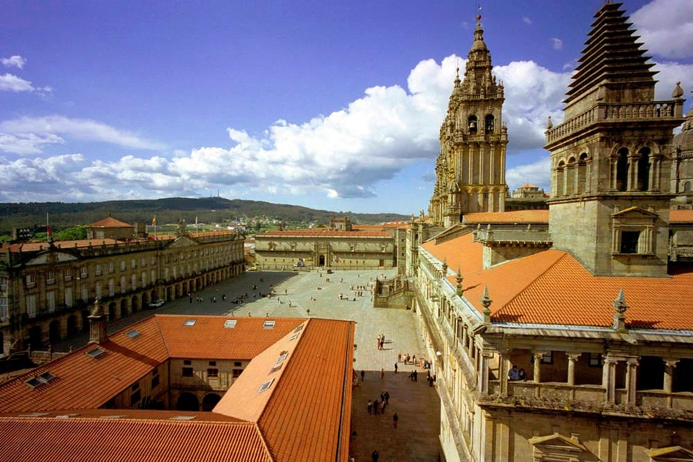 Santiago de Compostela, Plaza del Obradoiro
