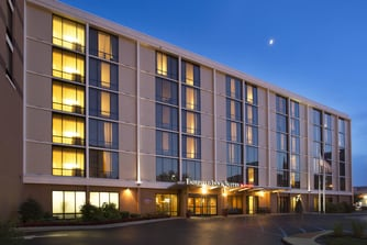 Downtown Louisville Hotel Exterior Located In The Heart Of Near 4th Street Live