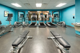 Downtown Louisville Hotel Gym