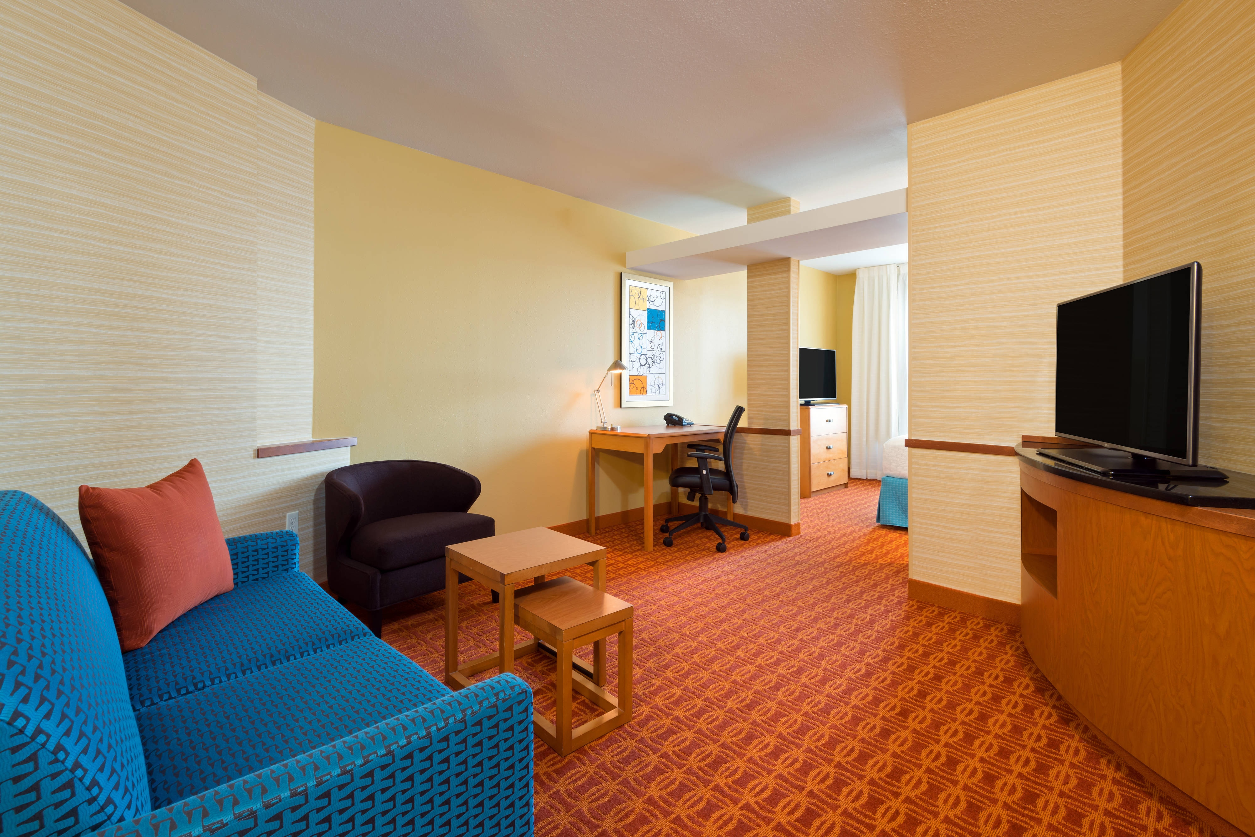 Downtown Louisville Hotel Suite