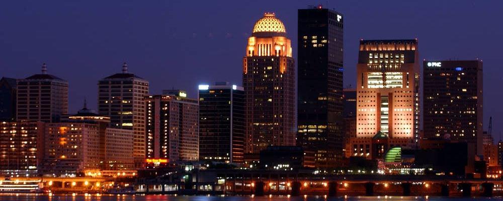Skyline von Louisville