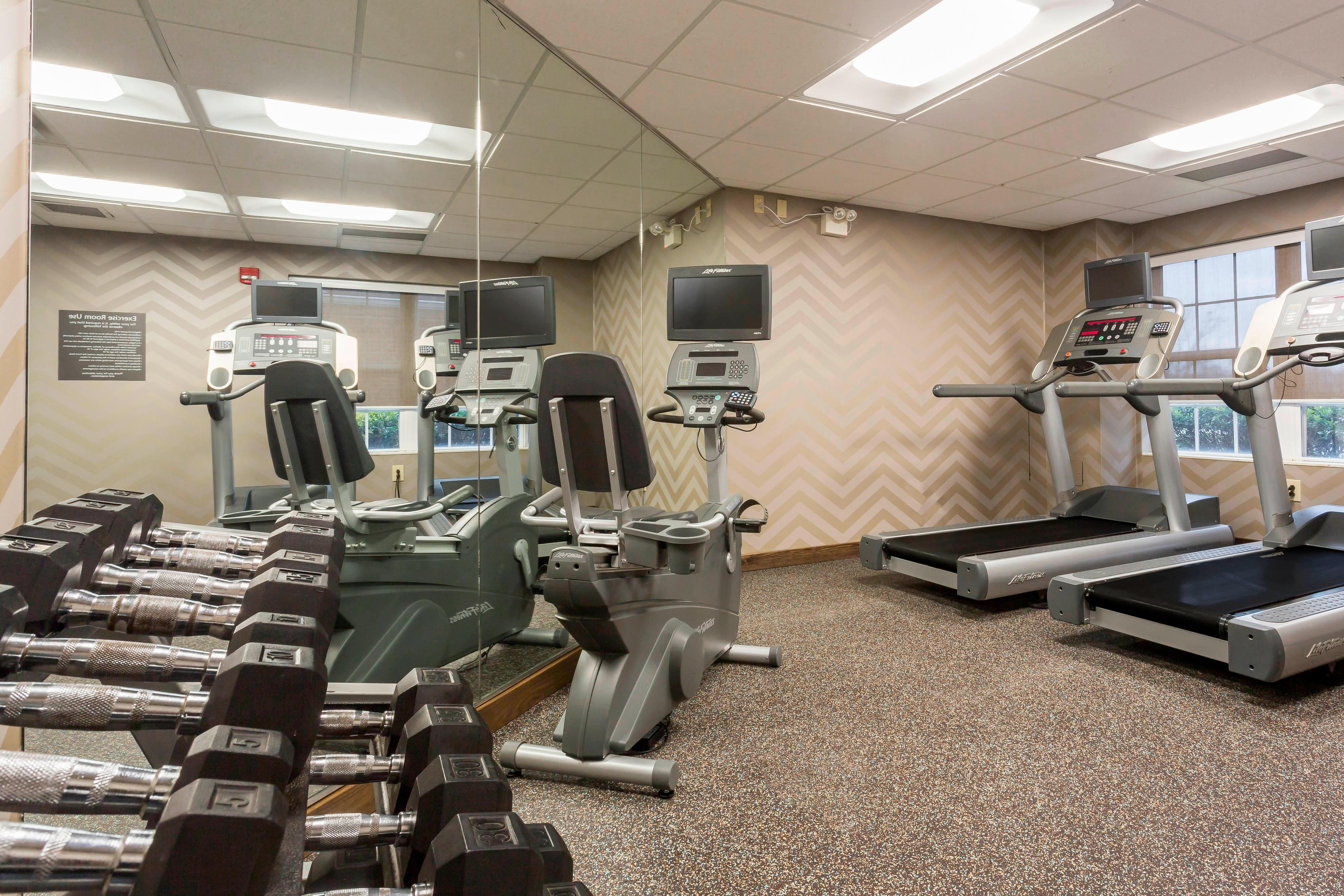 Northeast Louisville Hotel Gym