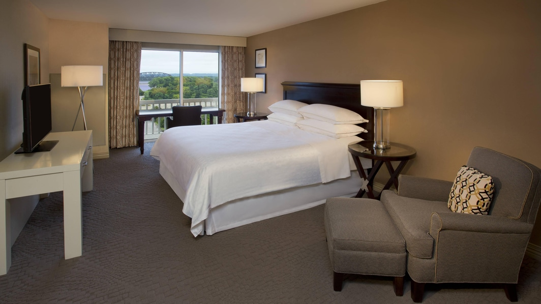 King Guest Room with View