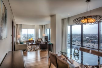 Master Suite – Living & Dining Area