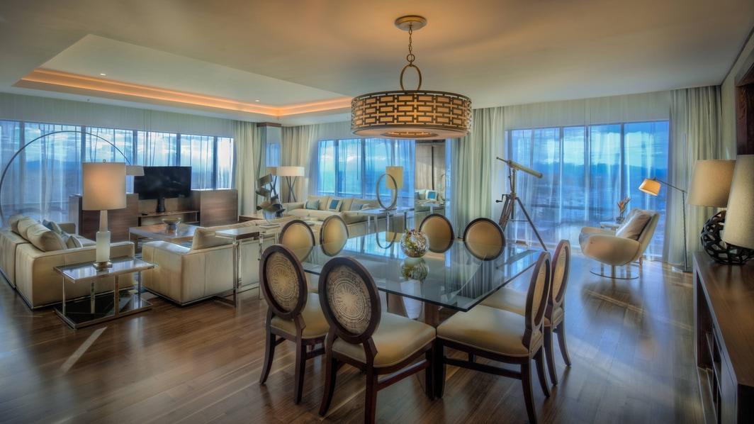 Suite présidentielle–espace salle à manger