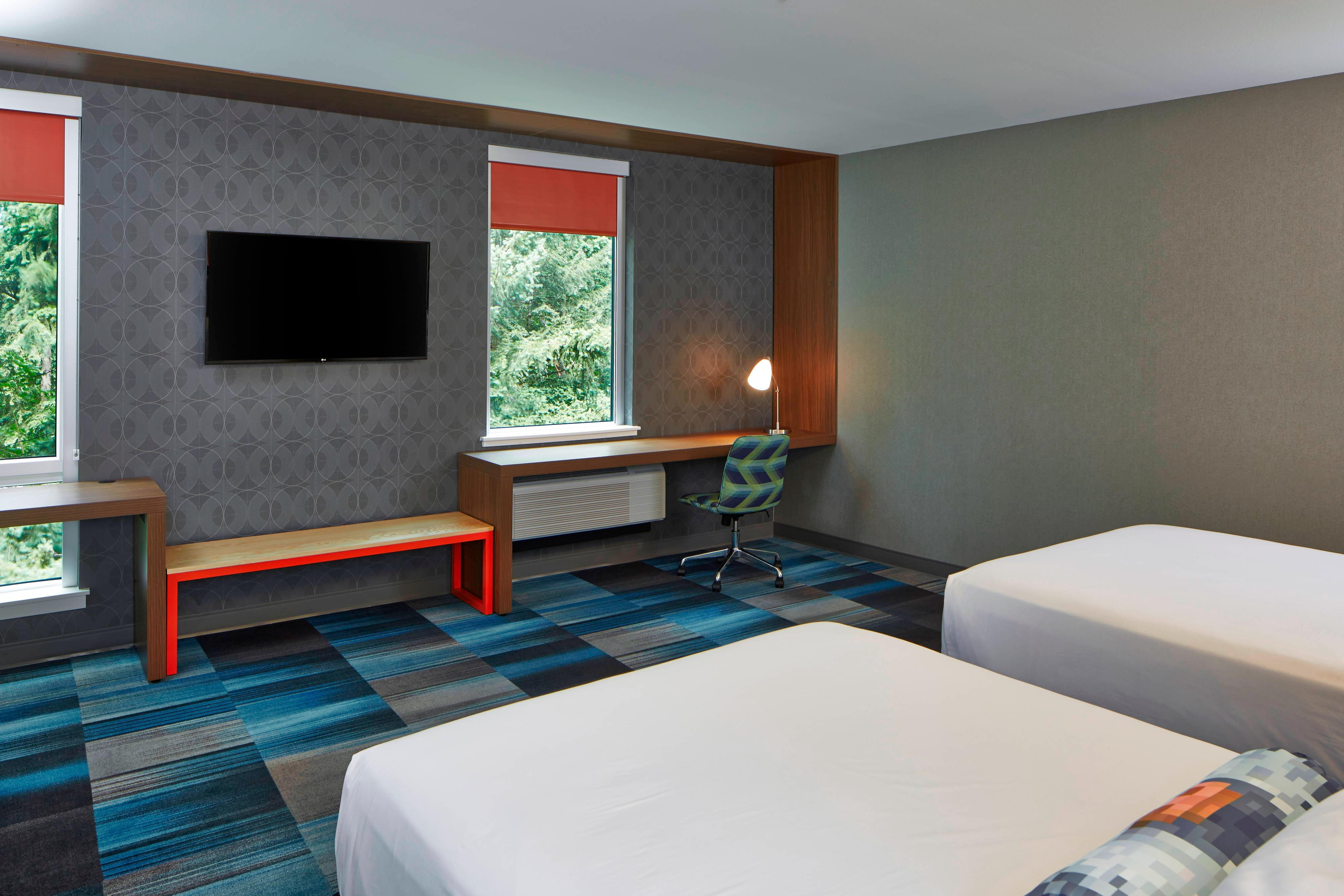 Aloft Queen/Queen - Guest Room