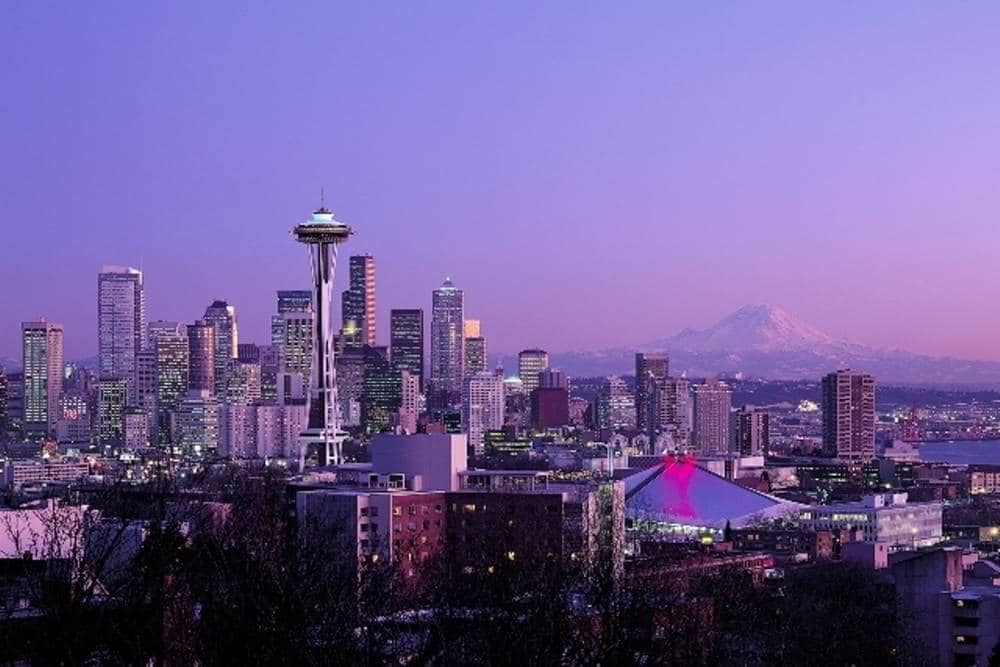 Seattle Skyline – Seattle Southcenter Marriott