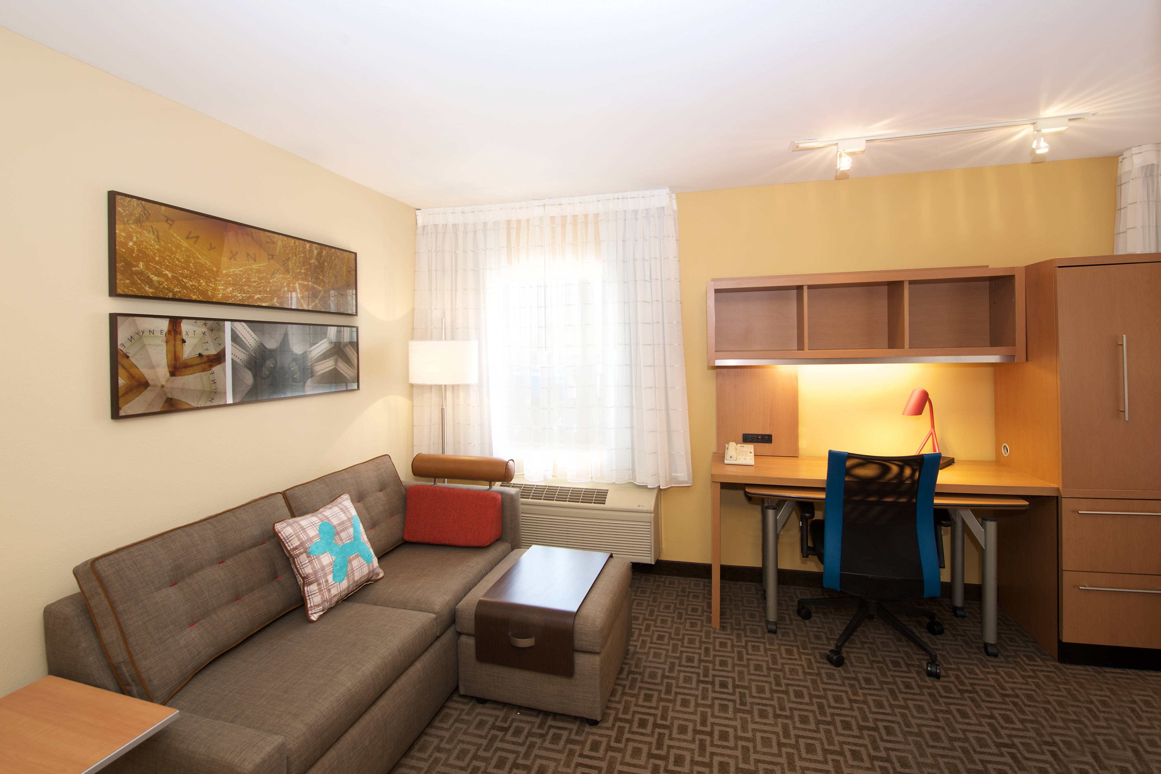 King Studio Suite Marriott TownePlace Suites Kent WA