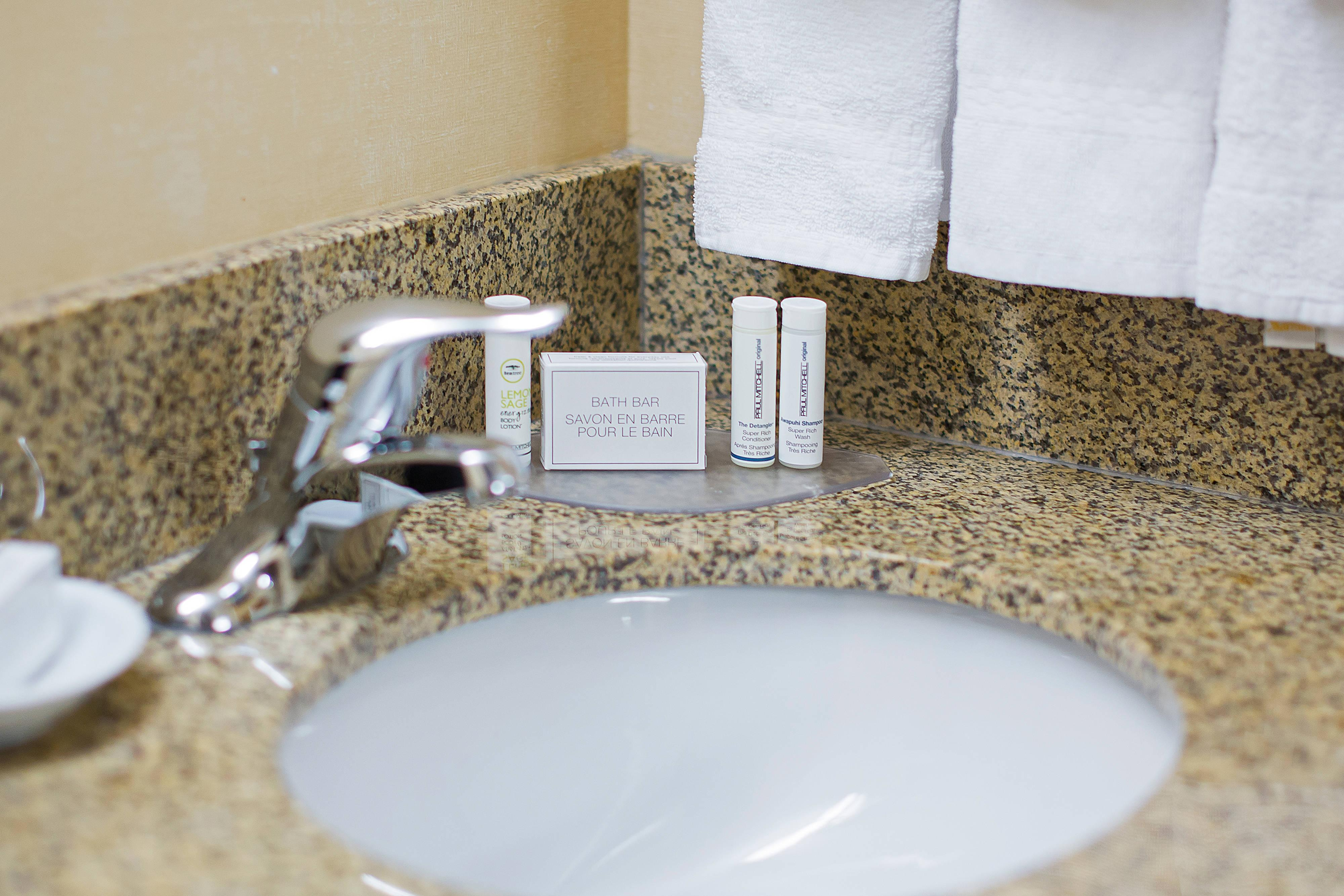 Guest Bathroom – Amenities