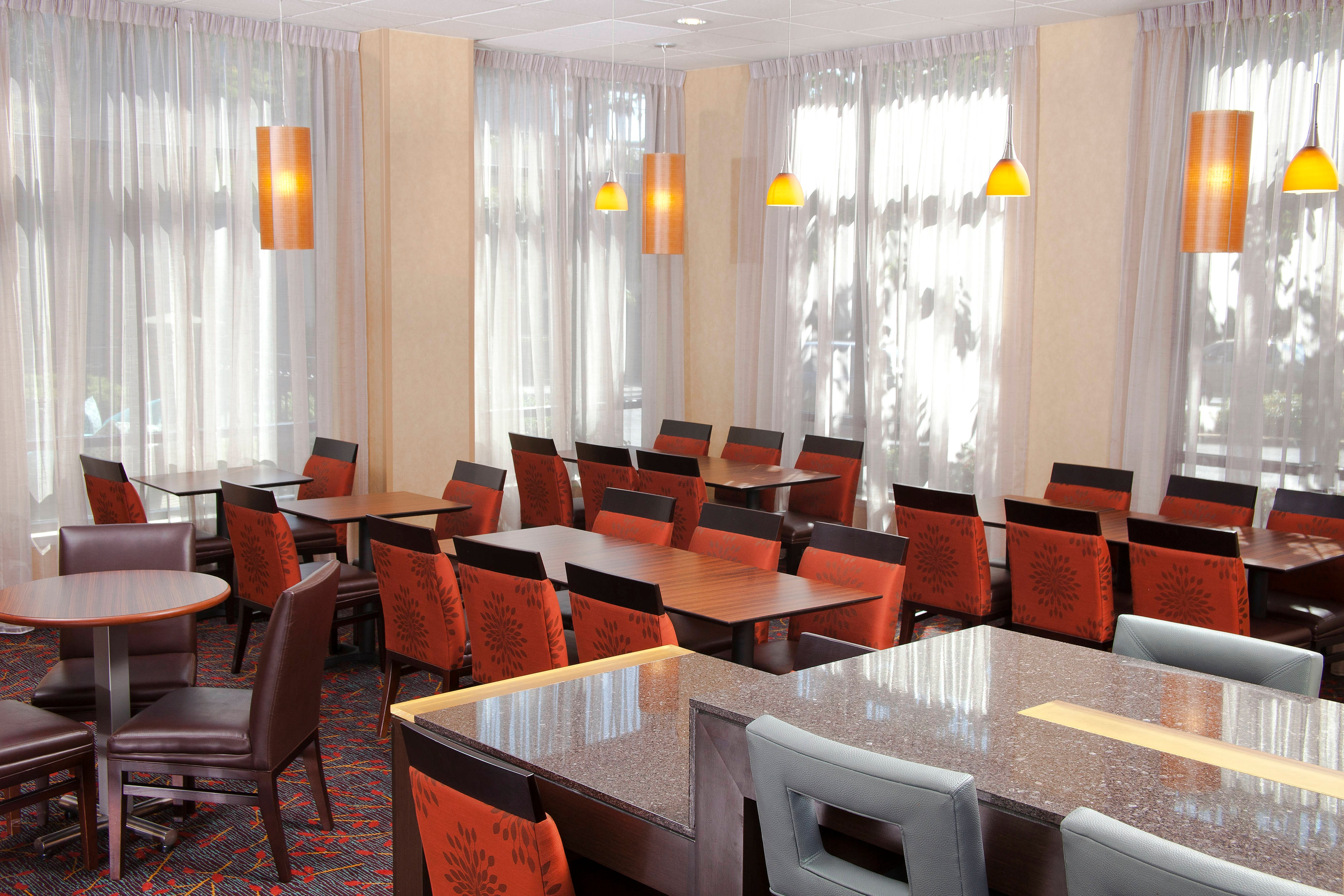 Redmond Washington Hotel Dining Area