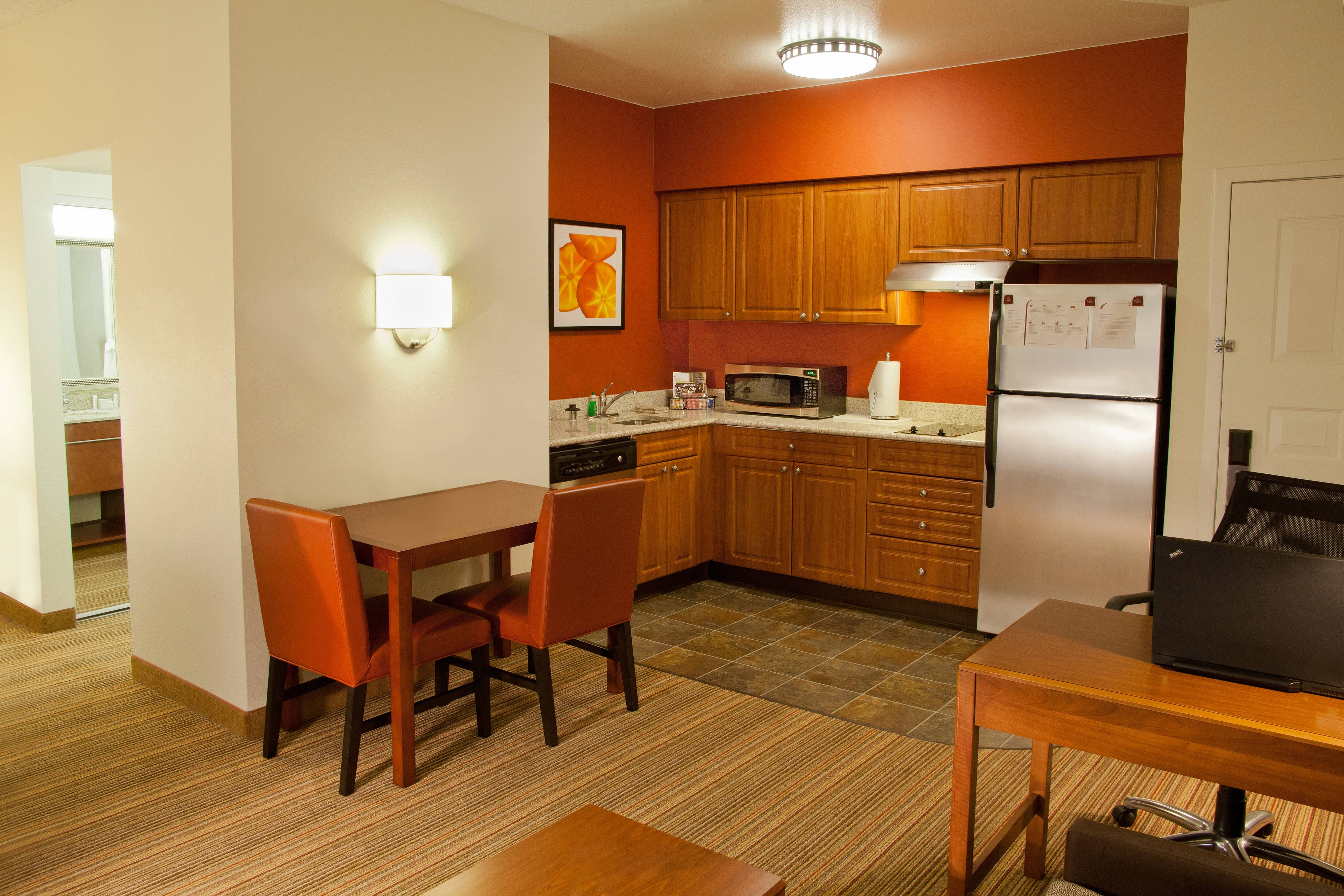 Residence Inn Redmond Suite Kitchen