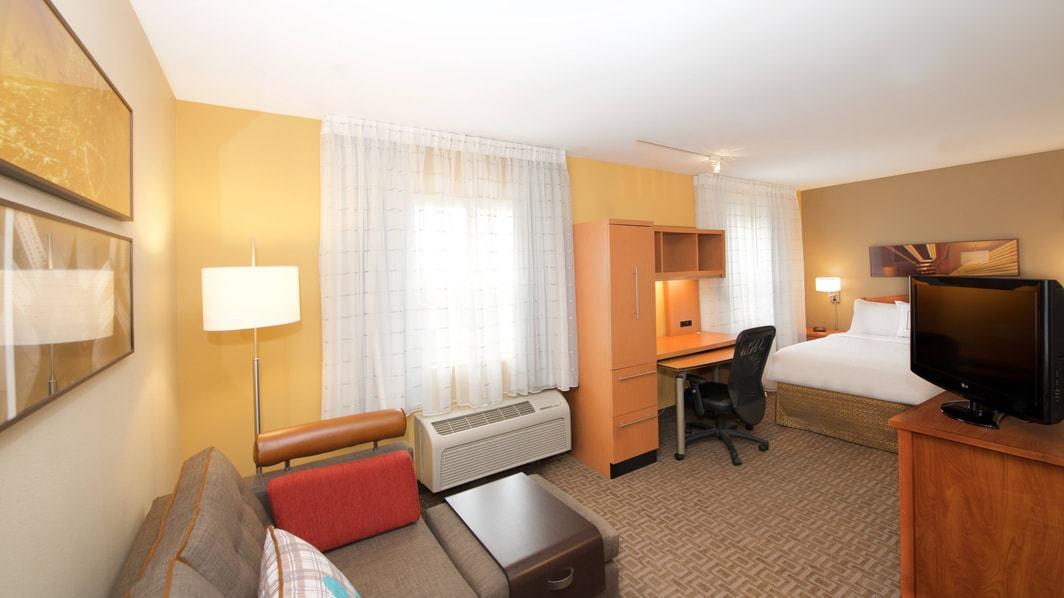 Studio King - TownePlace Suites Seattle Everett/Mukilteo