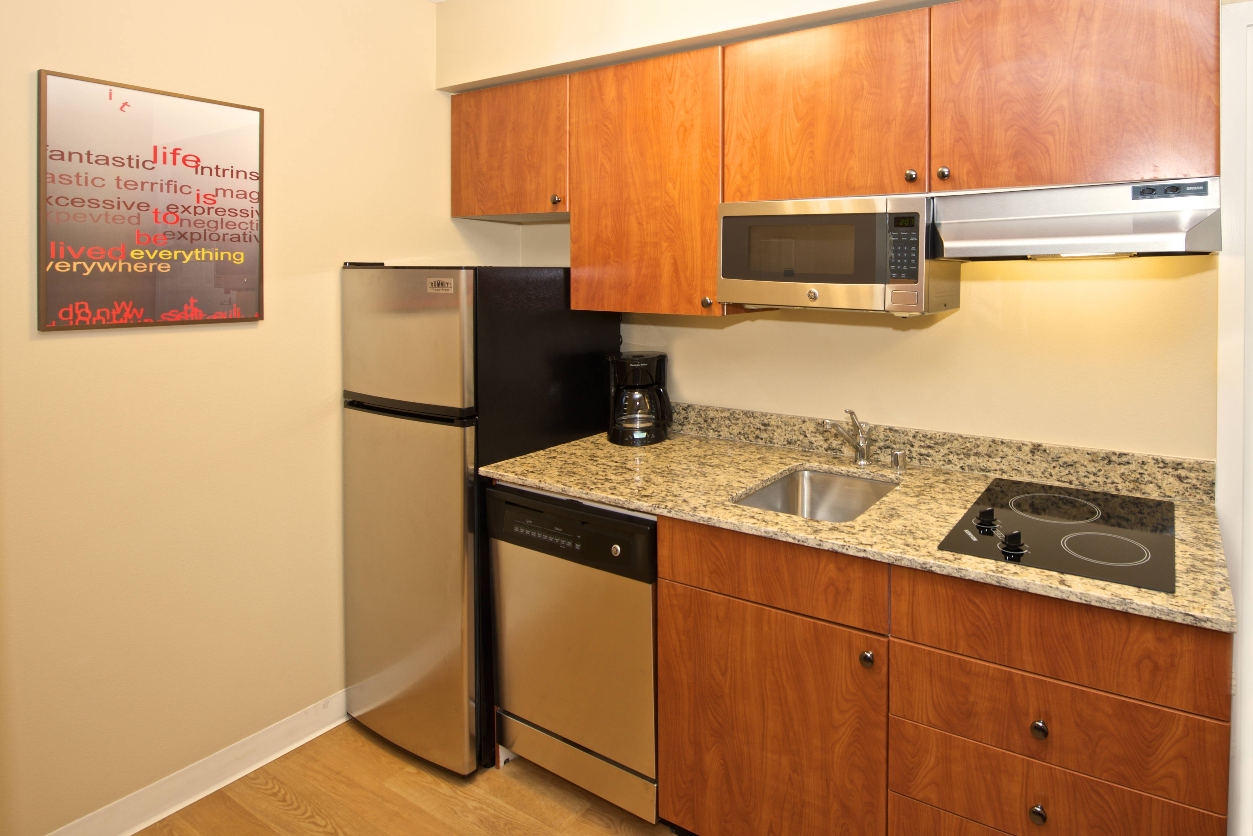 Studio Suite Kitchen-long term stay TPS