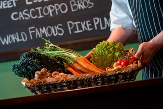 Hook & Plow's Fresh Ingredients