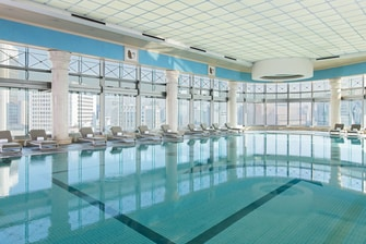 Indoor Swimming Pool, City View, 18 Floor, Sports