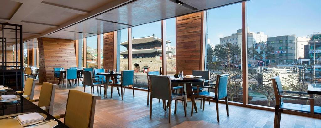 한국의 호텔 레스토랑