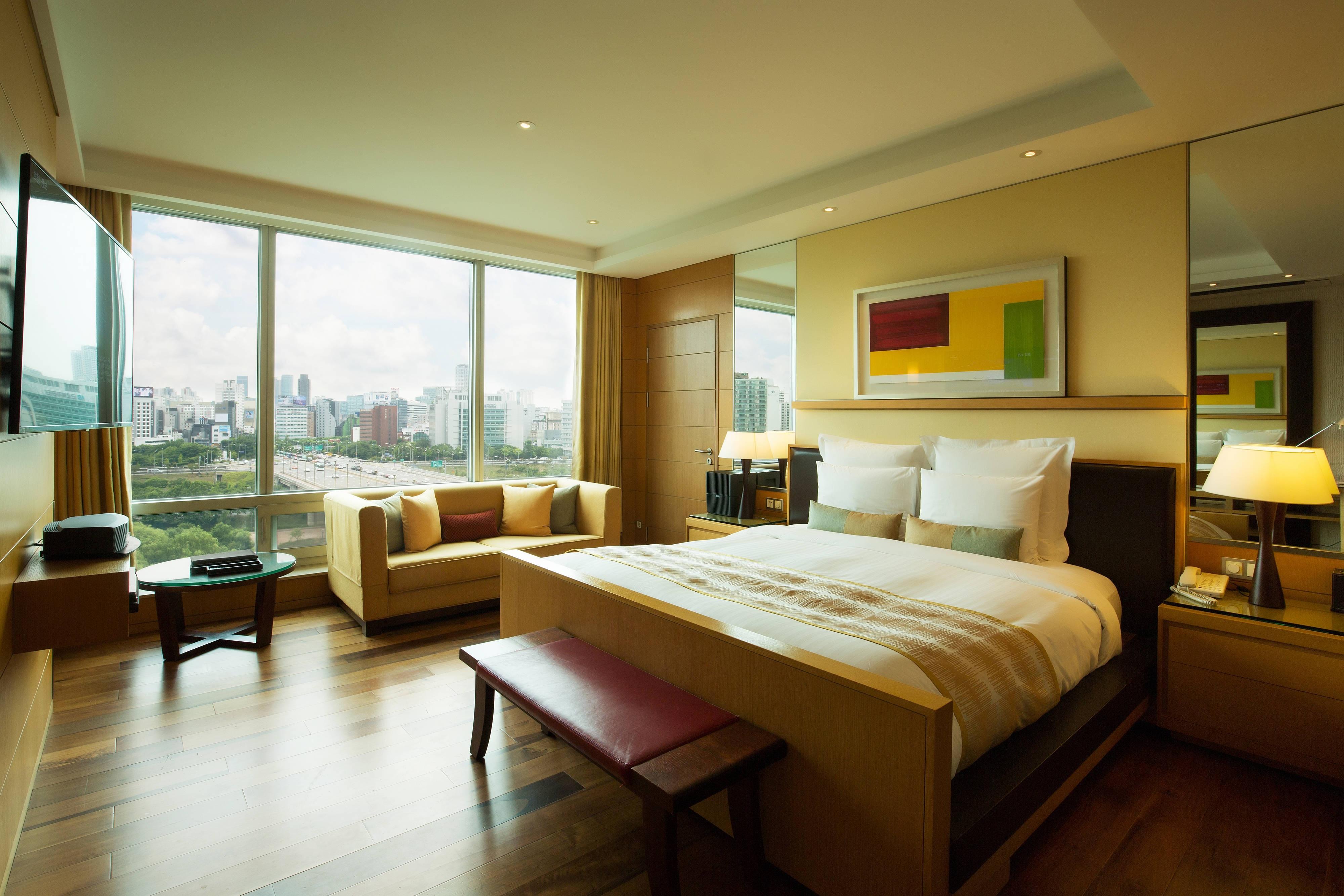 Appartement de luxe yeouido park centre seoul marriott - Appartement de luxe studio schicketanz ...