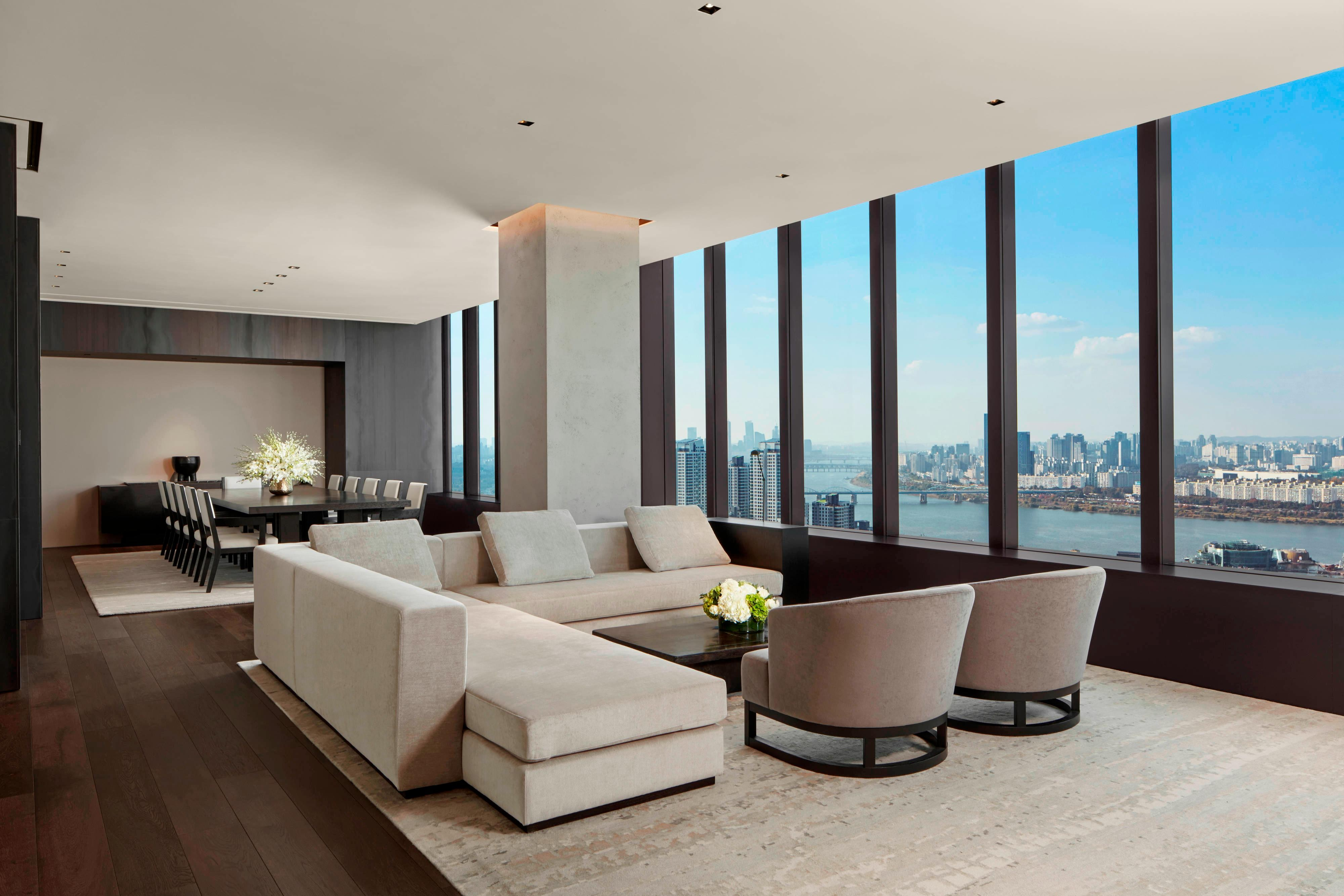 Presidential Penthouse Suite - Living & Dining Area