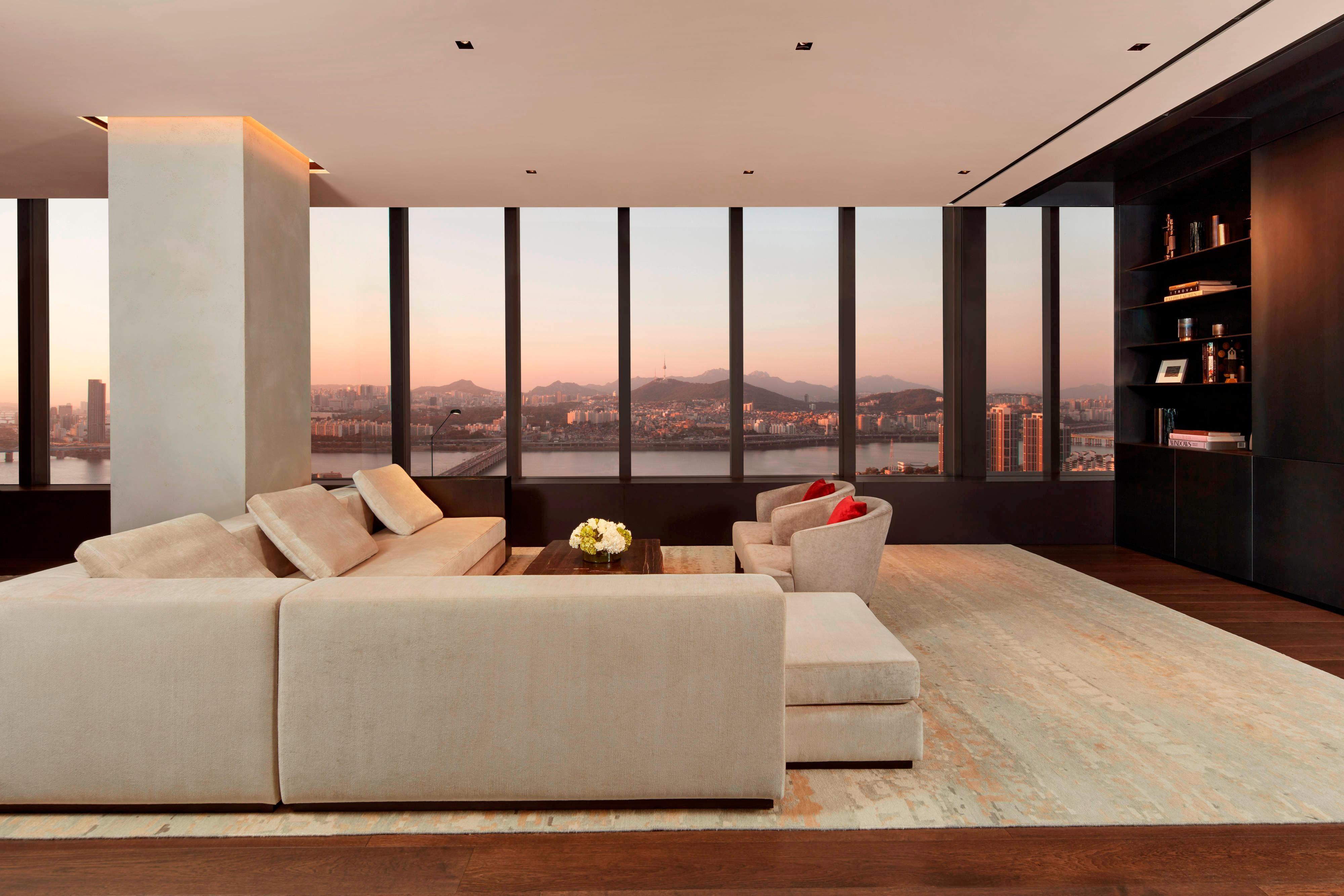 Presidential Penthouse Suite - Living Area