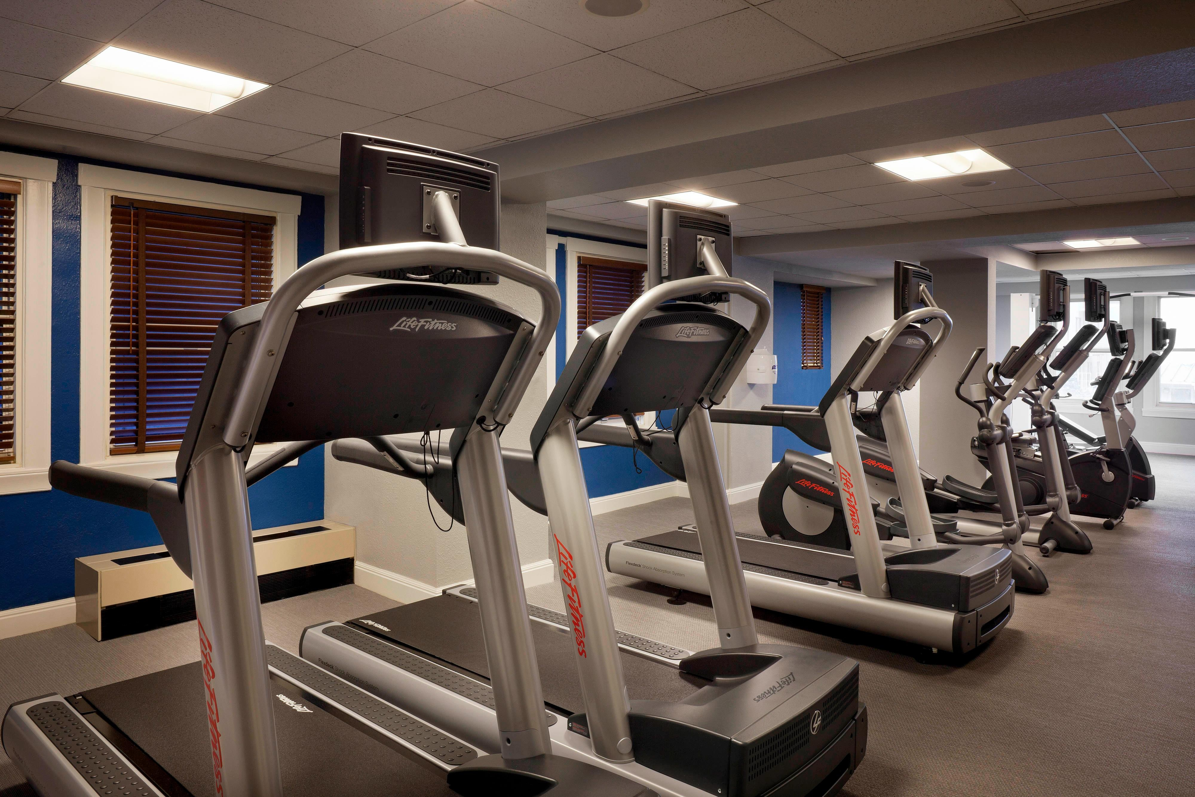 San Francisco hotel with fitness center