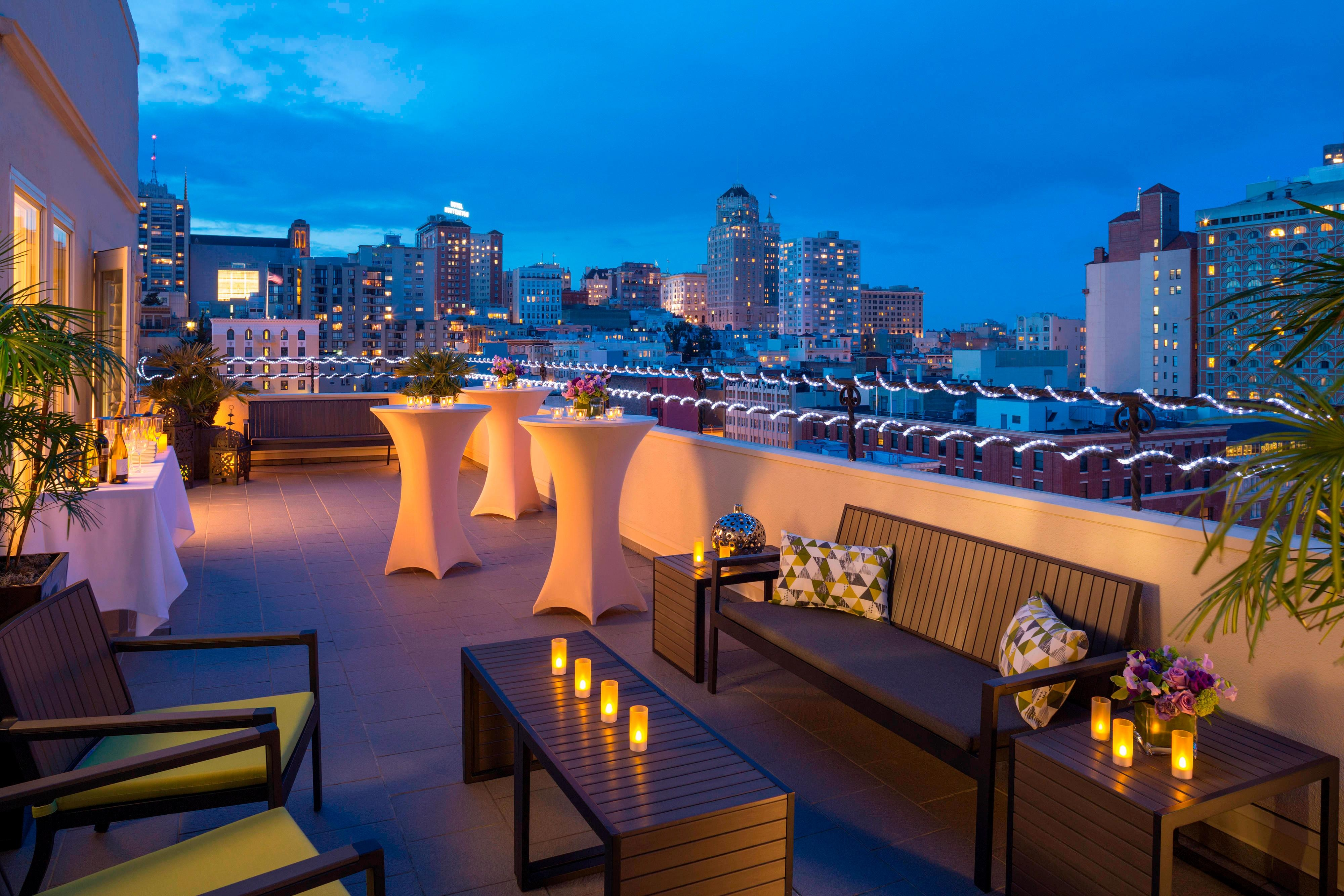 Rooftop Receptions in San Francisco