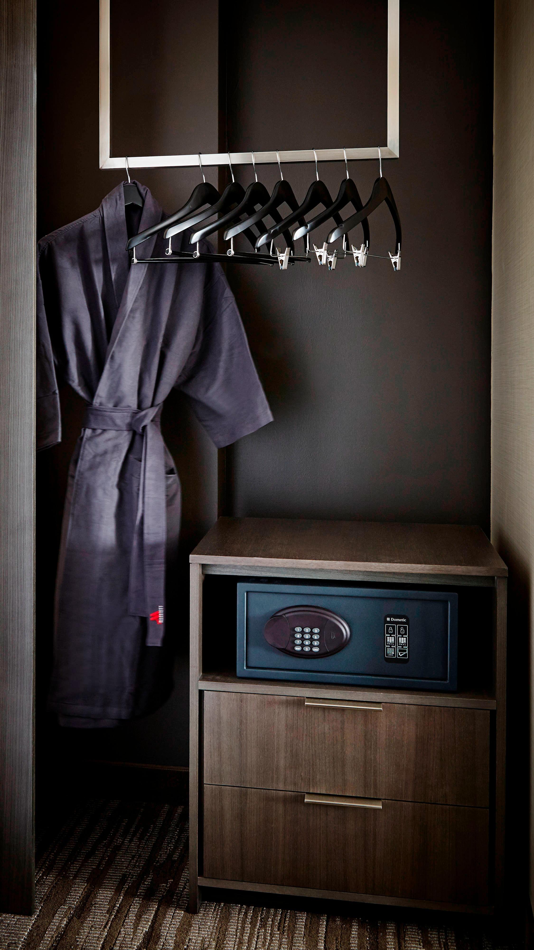 Guest Room Amenities In-Room Closet