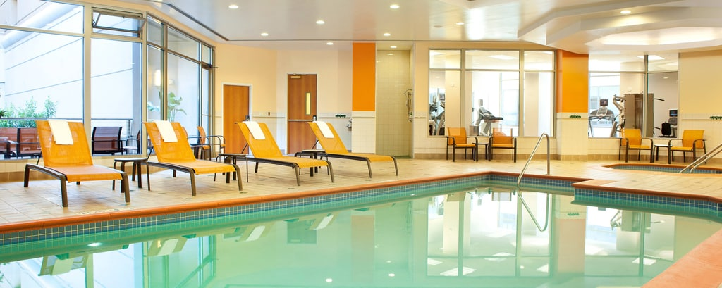 Hotelpool in San Francisco, Swimmingpool in der Innenstadt von San Francisco