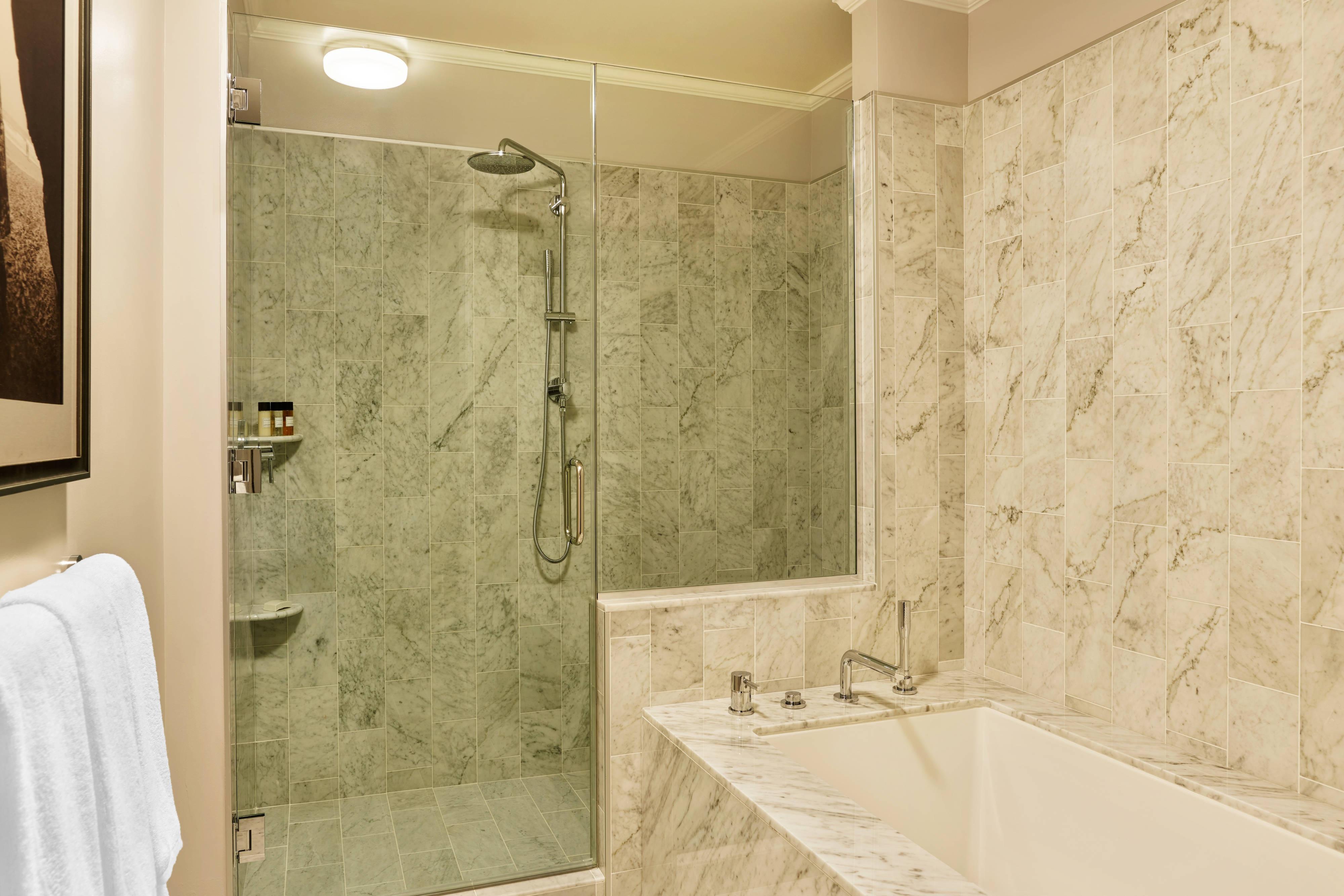 Palace Suite Tub & Shower