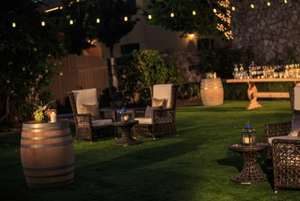 Exterior event spaces