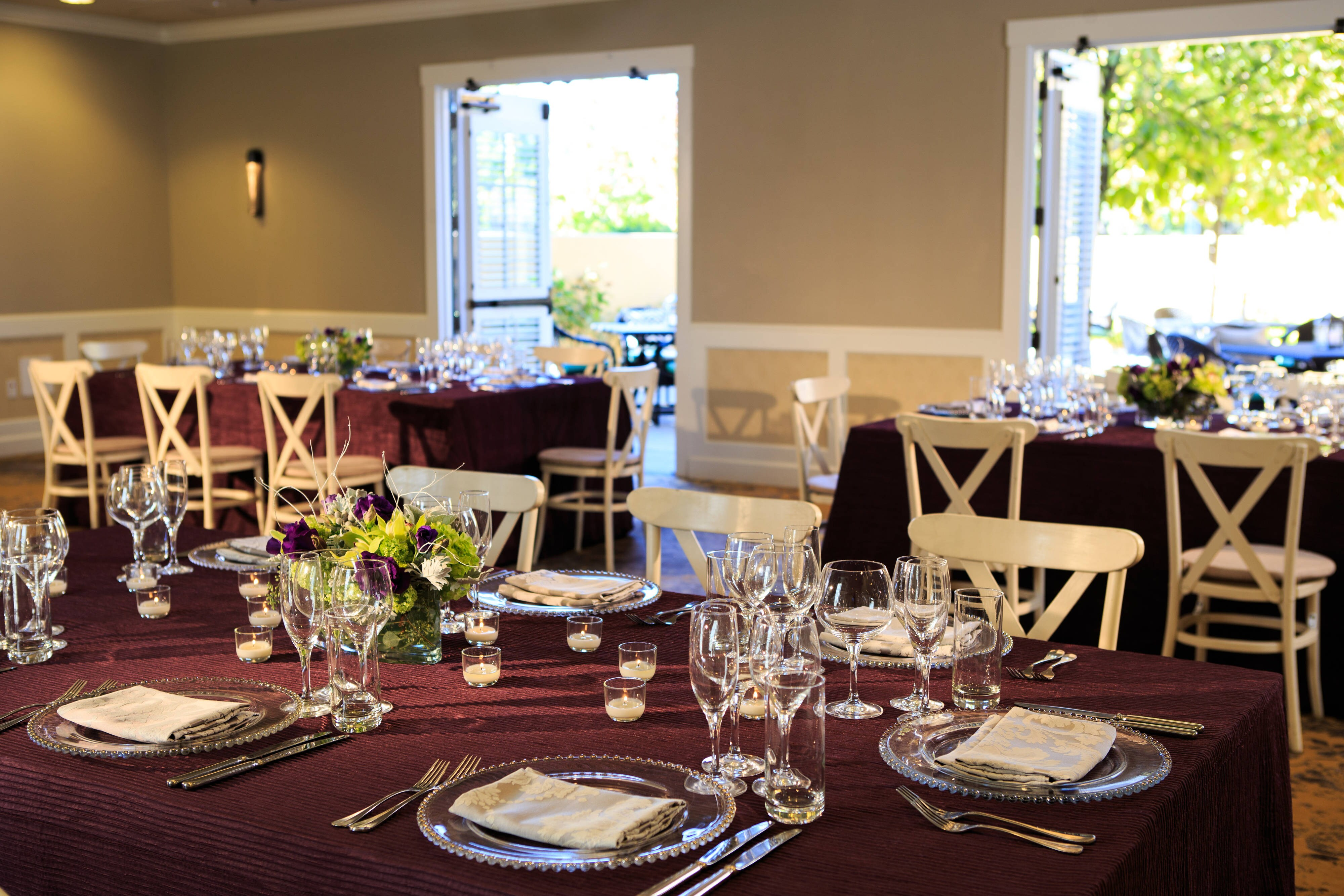 Blue Oak Room - social or wedding space