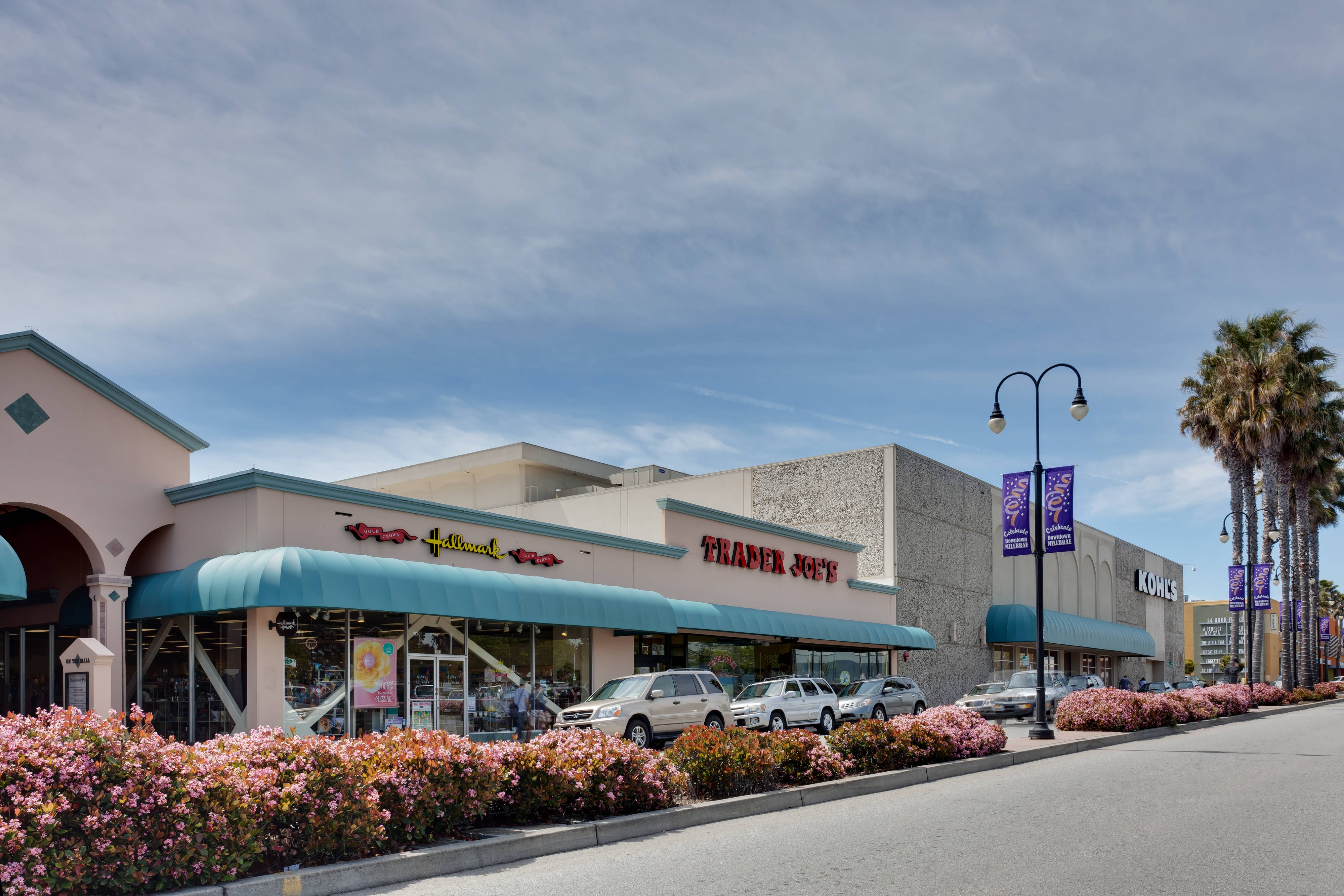 Downtown Millbrae Shopping Center