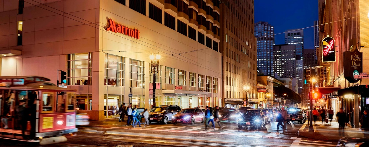 San Francisco Boutique Hotel - downtown | San Francisco Marriott ...