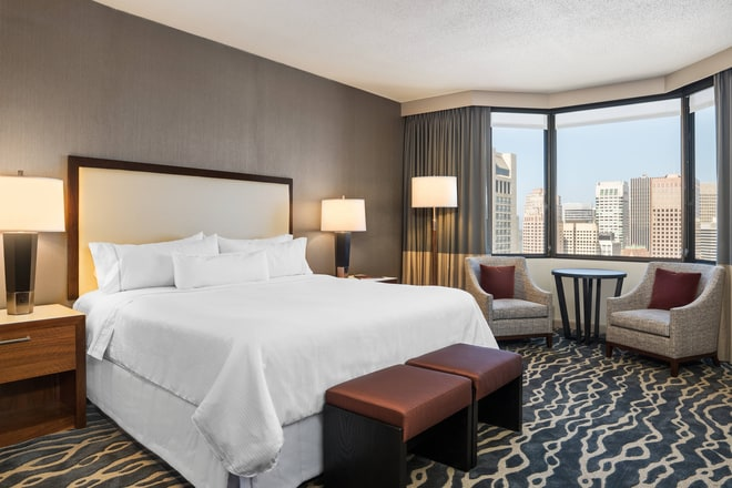 King Grand Deluxe Guest Room - Tower Building