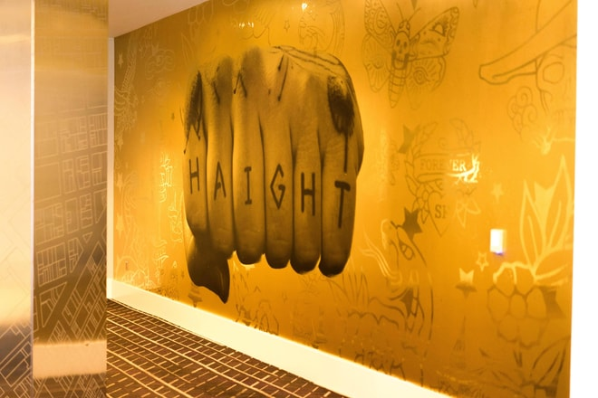 Haight Wall In Foyer