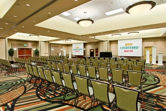 Rim Rock Convention Center – Theater Setup