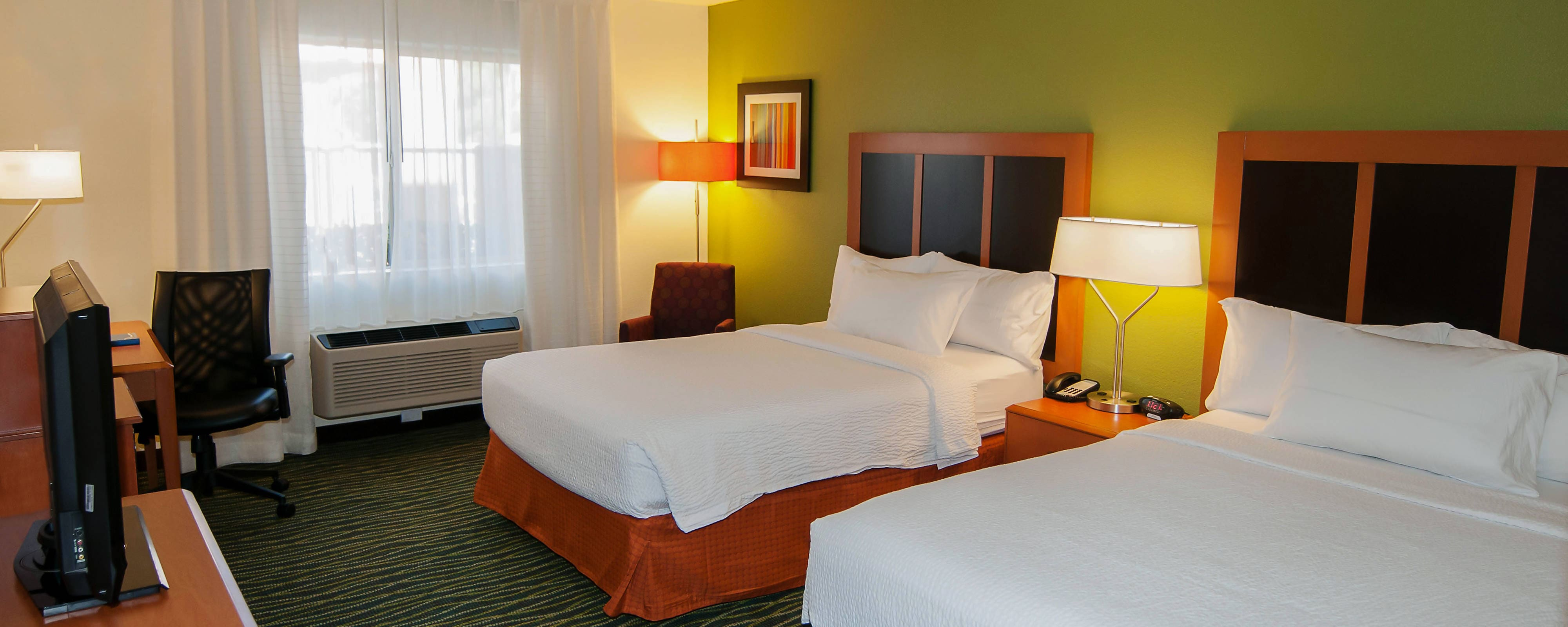 Hotelzimmer im Fairfield Inn St. George Utah