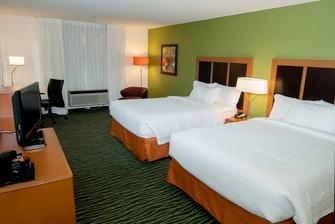 Fairfield Inn St George Utah Hotel Room
