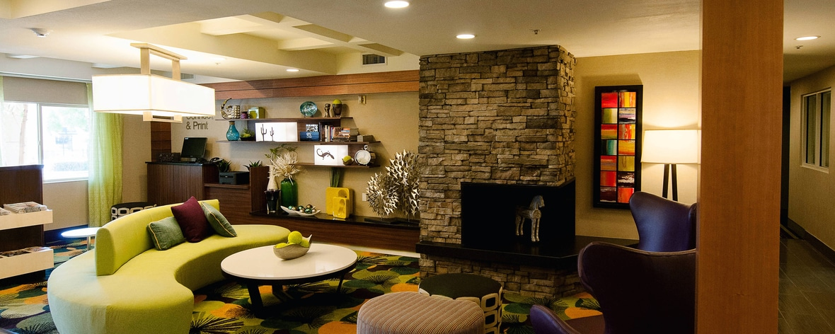 Fairfield Inn St George Utah Lobby